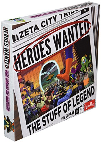 La légende: Heroes recherchés Expansion - Jeu de société