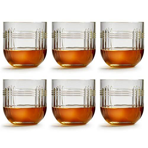 Libbey Bicchiere The Gats - 290 ml / 29 cl - set di 6 pezzi - lavabile in lavastoviglie - design unico