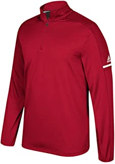 adidas Game Built Long Sleeve Quarter-Zip Top - Men's Multi-Sport