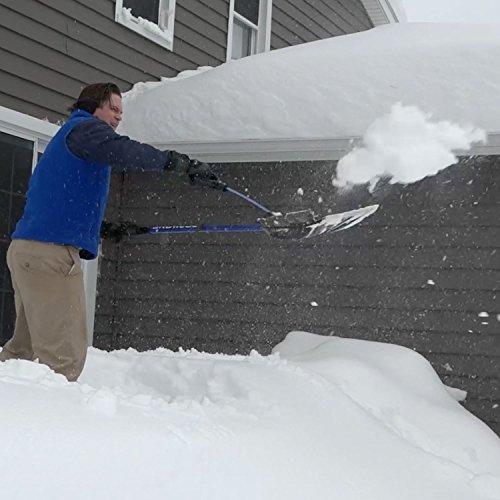 Back Saving Snow Clearing Shovel From Snow Joe