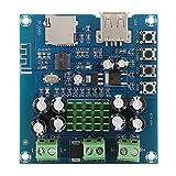 Socobeta Placa amplificadora Bluetooth Placa amplificadora de Potencia de Audio Digital de Doble Canal para Altavoz DIY
