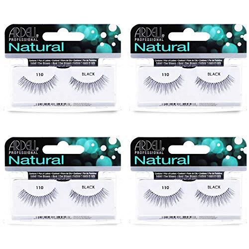 Ardell Natural Lashes False Eyelashes 110 Black (4...
