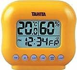 タニタ 温湿度計TT532オレンジ