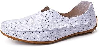 KUANGQIANWEI-SHOES Chaussures Joker Été Respirant perforé Chaussures de Sport en Cuir PU Confortable Confortable Chaussure...