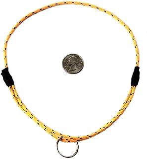 "National Leash Mountain Rope Dog ID Collar- Mango- Medium (14""-20"") Ultra Lite"