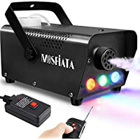 MOSFiATA Professional DJ LED Fog Machine with Controllable Lights