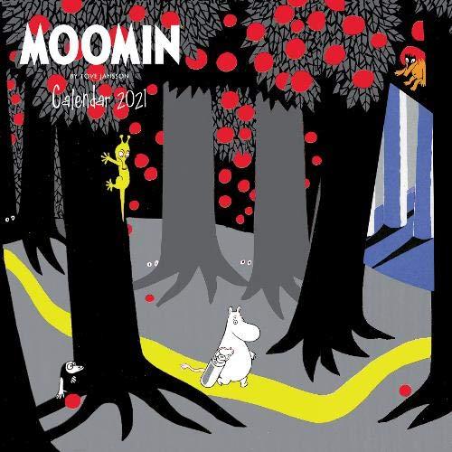 Moomin - Mumins 2021: Original Flame Tree Publishing-Kalender [Kalender] (Wall-Kalender)