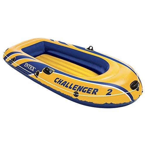 Intex Schlauchboot Challenger 2 Phthalates Free, 236 X 114 X 41 cm, 68366np