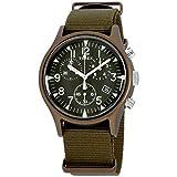 Timex Men's MK1 Aluminum Chronograph 40mm Analog Quartz Nylon Strap,...
