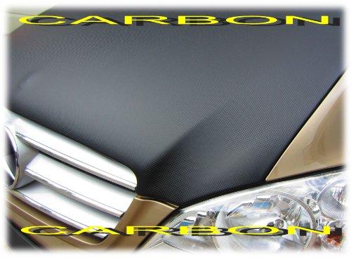 CARBON OPTIK AB-00277 Vollbra Bonnet BRA für die ganze Motorhaube Vito Viano W639 2003-2014 Haubenbra Steinschlagschutz Tuning
