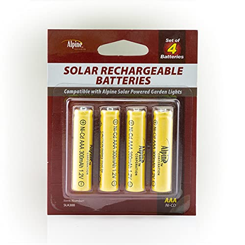 Alpine SLA388 300 mAh Replacement AAA NI-CD Batteries - Clear