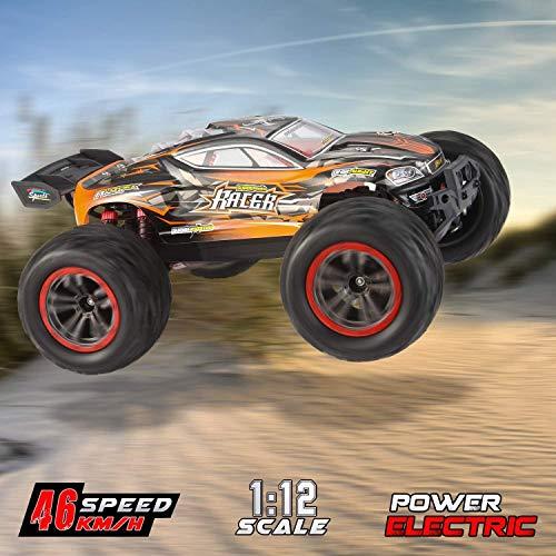 mächtig der welt 1:12 RC-Car, 4WD 2,4G-Auto mit Fernbedienung für Erwachsene und Kinder, Höhe 46 km / h…