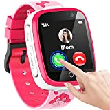 "Kids Smart Watch for Girls Boys, 1.54""Touch Screen Smart Watch for Kids with Call SOS 2 Camera Games Video Music Player Calculator Calendar Alarm Clock, Children Smart Watch Gifts for Kids Age 3-12"
