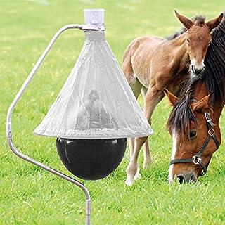 Pferdekoppel VOSS.farming Bremsenfalle Bee Free Anti-Bremsen-Falle bis zu 95/% Weniger Ungeziefer Bremsen-Bek/ämpfung Weide