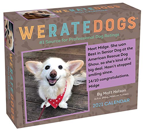 Volume 1 : WeRateDogs 2021 Day-to-Day Calendar 1