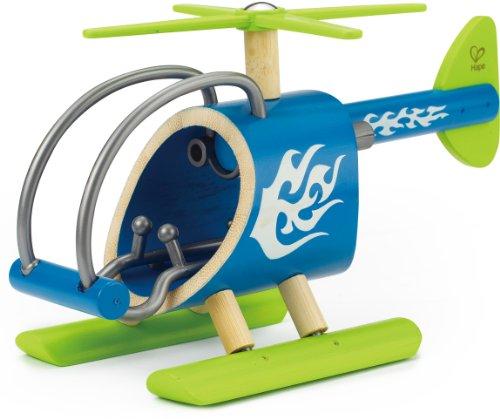 Hape - E5518 - Bambou - Véhicules Miniatures - Hélicoptère E-Copter