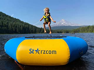 Sponsored Ad - Starzcom Water Trampoline – Inflatable Gymnastics Water Trampoline – Heavy Duty Commercial Grade Materials...