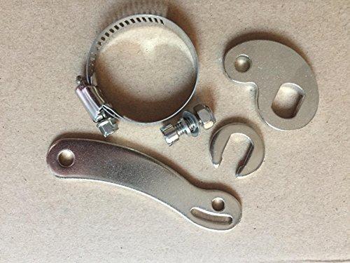 NBPOWER Drehmomentarm Universal für E-Bike Elektro-Fahrrad vorne oder hinten, E-Bike Umbausatz