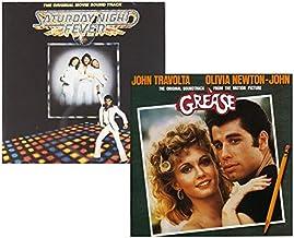 Saturday Night Fever - Grease - John Travolta 2 CD Album Bundling
