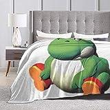 Baulerd Fat Yoshi Ultra-Soft Micro Fleece Blanket Couch 50'' x40