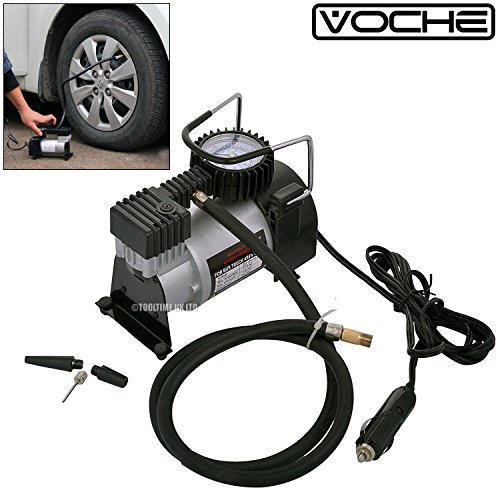 Voche Heavy Duty 12V Portable Air Compressor Car Tyre Inflator