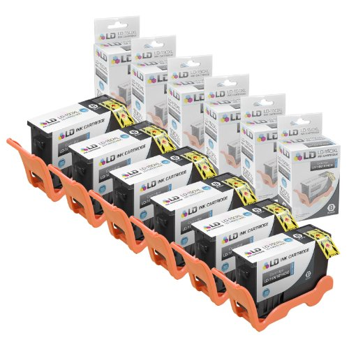 LD Compatible Ink Cartridge Replacement for Lexmark 150XL 14N1614 High Yield (Black, 6-Pack)