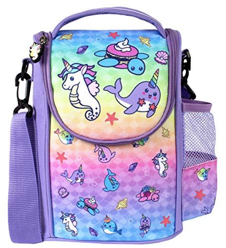 Fringoo - Large Capacity Kids Strap Lunch Bag | Small Cool Bag Kids...