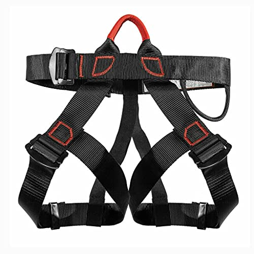 Adjustable Thickness Climbing Harness Half Body Harnesses, Safety Climbing Harness Waist Strap Belt For Outdoor Activities Rock Climbing