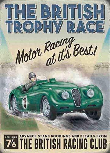 Generic Britische Pokal Rennen Rennsport Club-Parent - 30 x 20 cm