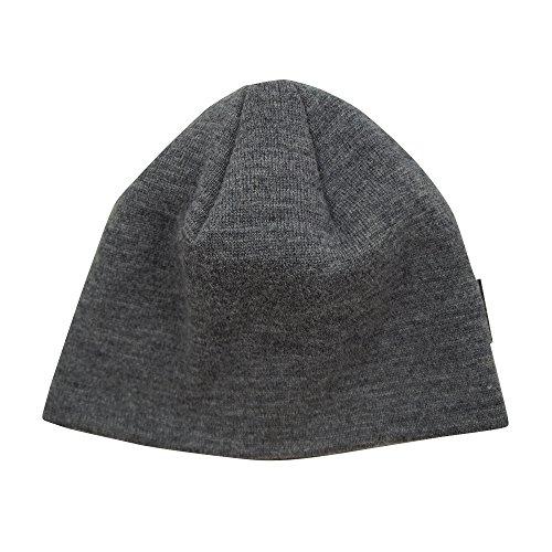 Mufflon Damen/Herren Mütze Storm Schurwolle, Grey, One Size