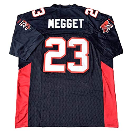 QIMEI Earl Megget #23 The Longest Yard Mean Machine Football Jersey v3 Black