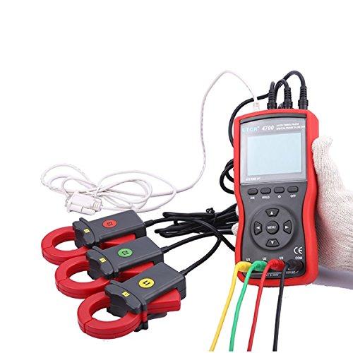 Dhmm123 Digital Dreiphasen-Digital-Phasen-Volt-Ampere-Zangenmessgerät messen Wechselspannung und Wechselstrom ETCR4700 Spezifisch