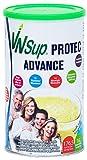 VNSup - Protec Advance - Suplemento Alimentario Batido de Proteínas Lácteas con Vitaminas Minerales Probioticos Glutamina y Aceite MCT, Vainilla