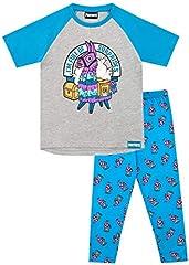 Fortnite Pijamas de Manga Corta niños Llama
