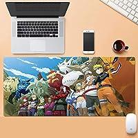 ナルトマウスパッド、滑り止めラバーコンピューターマウスパッド、大型テーブルマット、プロフェッショナルゲーミングマウスパッド-ナルトアニメデザイン 大型マウスパッド ゲーミング キーボードパッド アニメ マウスパッド 疲労軽防水 マウスパッド800*300*3MM/900*400*3MM-A_800*300*3mm