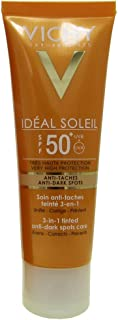 Vichy Capital Soleil Ideal Soleil 3-in-1 Tinted Anti-dark Spots Care Spf50 50ml [並行輸入品]