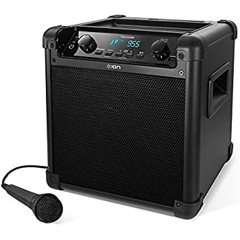 ION Tailgater AM//FM Portable Speaker System with 30-pin iPod Dock Old Model