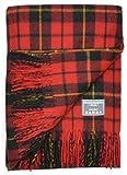 The Tartan Blanket Co. Recycelte Wolldecke Schottenmuster - Wallace (150cm x 190cm)