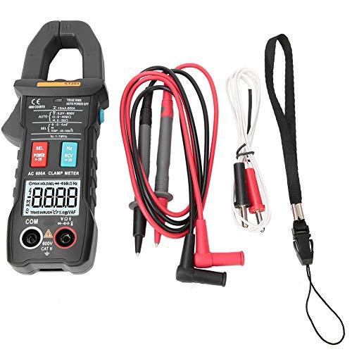 Multimetro, ANENG ST205 Pinza amperometrica Volt Amp Tester Meter Amperometro Voltmetro Gamma automatica True RMS Elettricisti digitali Strumenti (Ner