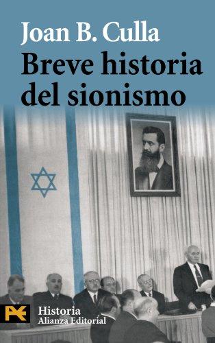 Breve historia del sionismo (El libro de bolsillo - Historia)