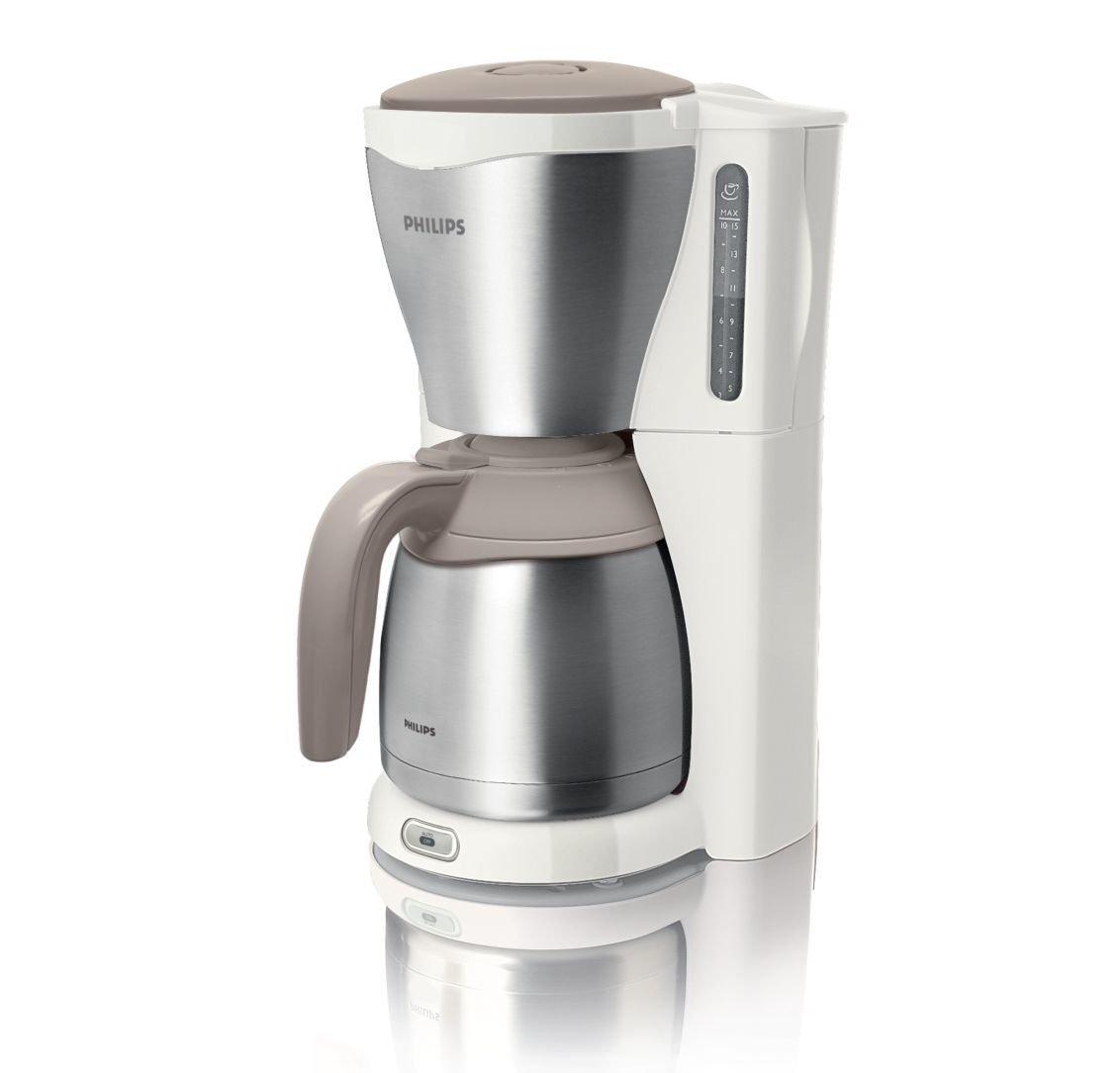 Philips Viva HD7546/00 - Cafetera (Independiente, Cafetera de filtro, 1,2 L, De café molido, 1000 W, Plata): Amazon.es: Hogar