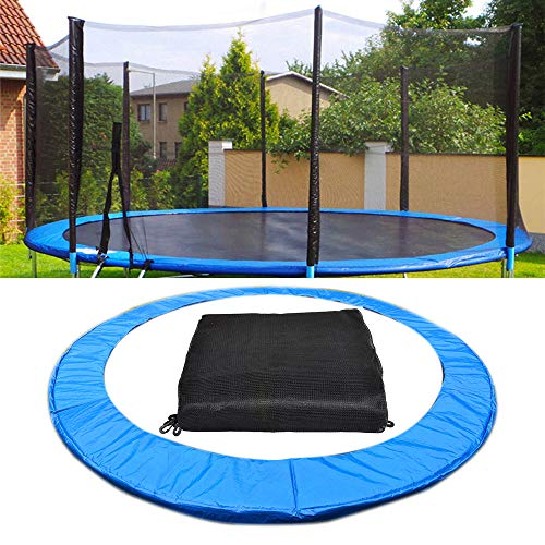 APJJ Trampoline Net Replacement And Trampoline Padding 10Ft, Universal Trampoline Spares, Trampolines Nets with Zip, UV-Resistant Edge Protection, Tear And Weather-Resistant Trampoline Protection Net