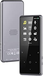 16GB MP3 Player with Bluetooth 4.1, 2.4 inch HD Screen Lossless Sounds Music Player with Speaker, FM Radio/Record Voice/E-...