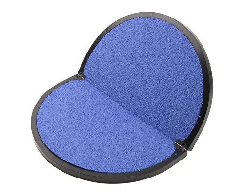Fitfeet tappetino poggiapiedi per spogliatoio Art. FIT1 (Base NERA interno Blu)
