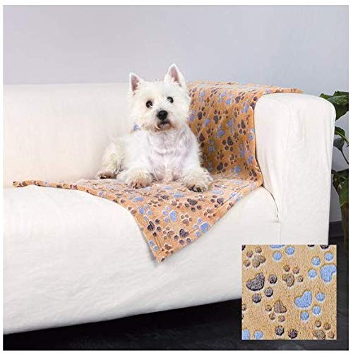 Trixie 37203 Fleecedecke Laslo, 150 × 100 cm, beige