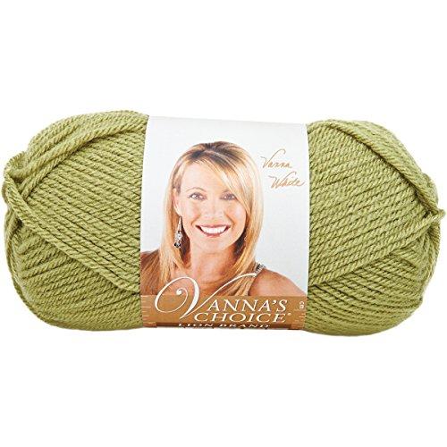 Lion Brand Yarn 860-173E Vanna's Choice Yarn, Dusty Green