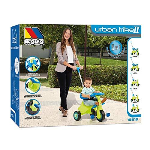 Molto - Triciclo infantil Molto Urban Trike II City