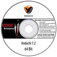 Kodachi Linux 7.5 (64Bit) Secure Anonymous OS - Bootable Linux Installation DVD