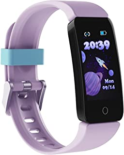 Sponsored Ad - Poryoo Fitness Tracker Watch for Kids Girls Boys Teens, Waterproof Activity Tracker with Pedometer, Calorie...