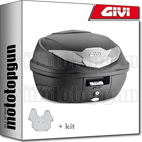 givi maleta b360nt + porta-equipaje compatible con yamaha xmax x-max 250 2012 12 2013 13